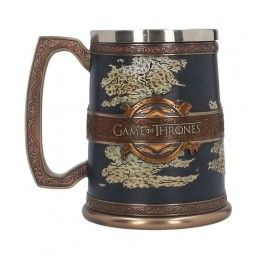 GAME OF THRONES - SEVEN KINGDOMS TANKARD RESIN BOCCALE REGNI NEMESIS NOW