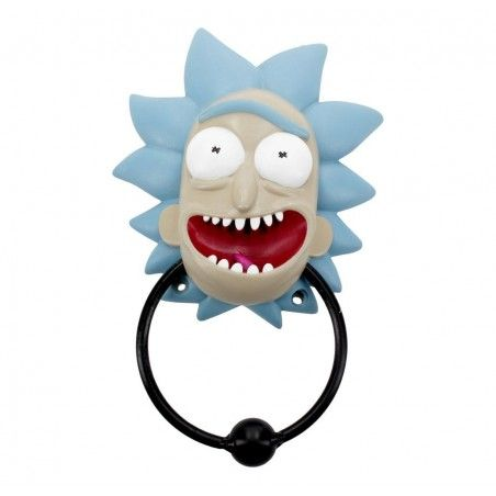 RICK AND MORTY - RICK DOOR KNOCKER FIGURE BATTIPORTA BATTAGLIO