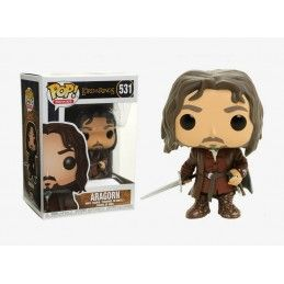 FUNKO FUNKO POP! THE LORD OF THE RINGS - ARAGORN BOBBLE HEAD KNOCKER