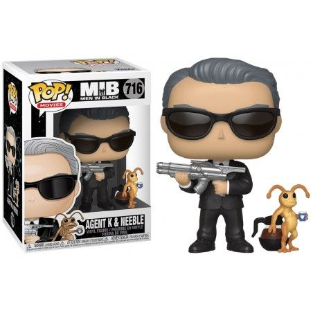 FUNKO POP! MEN IN BLACK AGENT K - NEEBLE BOBBLE HEAD KNOCKER