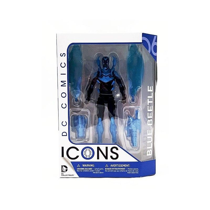 DC COMICS ICONS - BLUE BEETLE INFINITE CRISIS ACTION FIGURE DC COLLECTIBLES