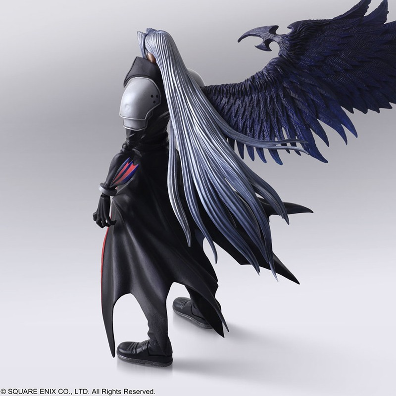 SQUARE ENIX FINAL FANTASY BRING ARTS - SEPHIROTH ACTION FIGURE