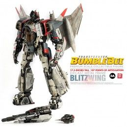 THREE A TOYS TRANSFORMERS BUMBLEBEE - BLITZWING PREMIUM SCALE DIECAST ACTION FIGURE