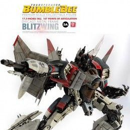 TRANSFORMERS BUMBLEBEE - BLITZWING PREMIUM SCALE DIECAST ACTION FIGURE THREE A TOYS