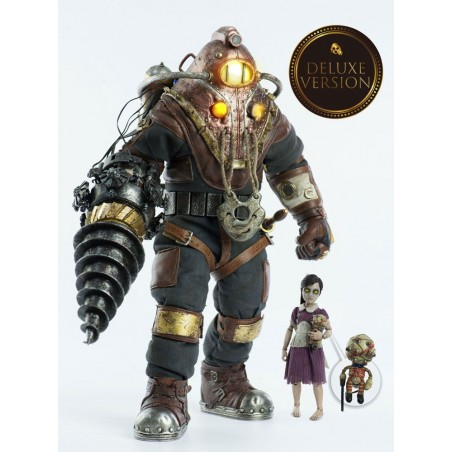BIOSHOCK SUBJECT DELTA AND LITTLE SISTER DELUXE 33 CM 2-PACK ACTION FIGURE