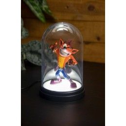 CRASH BANDICOOT BELL JAR LIGHT LAMPADA A CAMPANA PALADONE PRODUCTS