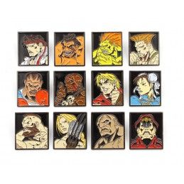 STREET FIGHTER 12-PACK PIN...