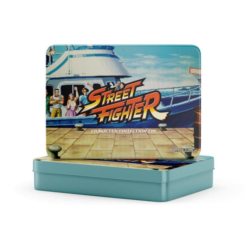 STREET FIGHTER 12-PACK PIN GIFT SET TIN BOX 12 SPILLE METAL BOX