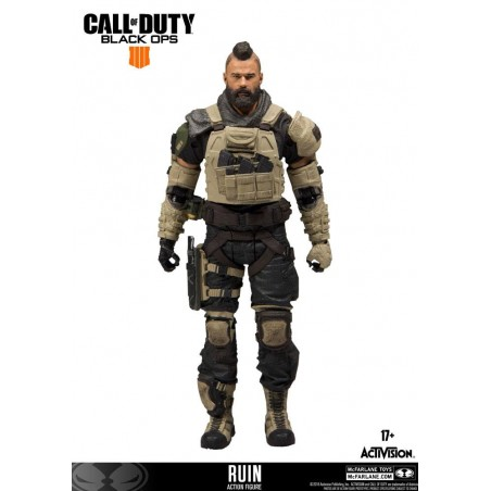 CALL OF DUTY - DONNIE RUIN WALSH ACTION FIGURE