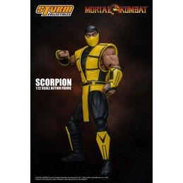 MORTAL KOMBAT - SCORPION 1/12 ACTION FIGURE STORM COLLECTIBLES