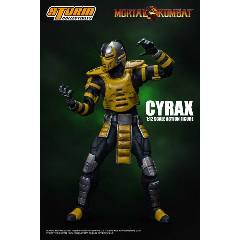 MORTAL KOMBAT - CYRAX 1/12 ACTION FIGURE STORM COLLECTIBLES