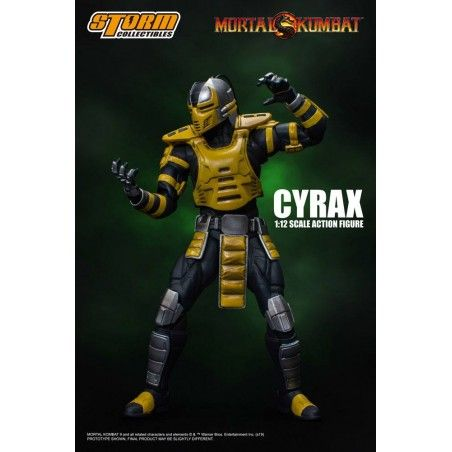 MORTAL KOMBAT - CYRAX 1/12 ACTION FIGURE