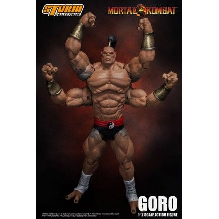 MORTAL KOMBAT - GORO 1/12 SCALE ACTION FIGURE