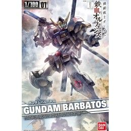 BANDAI GUNDAM BARBATOS IRON BLOODED ORPHANS 1/100 MODEL KIT ACTION FIGURE