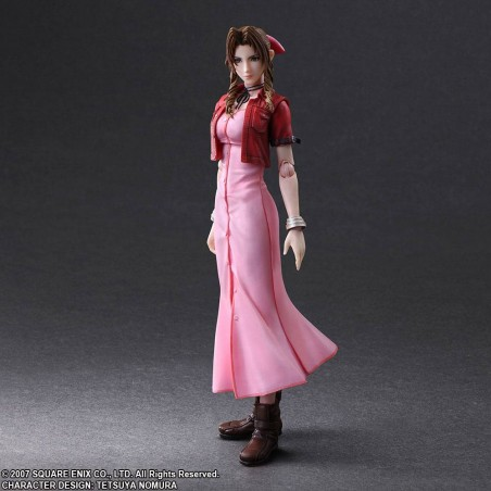 CRISIS CORE FINAL FANTASY 7 - AERITH PLAY ARTS KAI ACTION FIGURE
