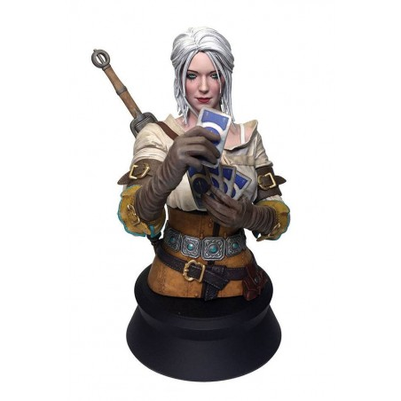 THE WITCHER 3 WILD HUNT - CIRI PLAYING CARDS BUST 20 CM FIGURE
