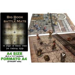BIG BOOK OF BATTLE MATS CAMPI DA GIOCO DA TAVOLO DM VAULT