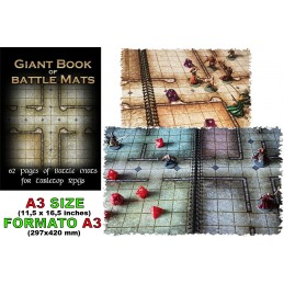 BIG BOOK OF BATTLE MATS A3...