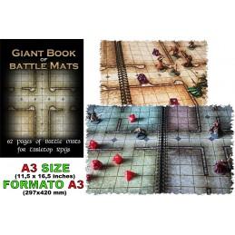 DM VAULT BIG BOOK OF BATTLE MATS A3 CAMPI DA GIOCO DA TAVOLO