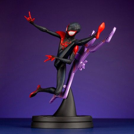 SPIDER-MAN SPIDER VERSE MILES MORALES HERO SUIT STATUE FIGURE