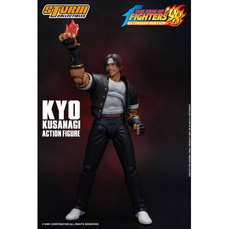 KYO KUSANAGI KING OF FIGHTERS 98 ULTIMATE MATCH ACTION FIGURE