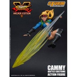 STREET FIGHTER V ARCADE EDITION - CAMMY BATTLE COSTUME 1/12 ACTION FIGURE STORM COLLECTIBLES