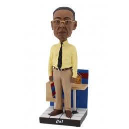 ROYAL BOBBLES BETTER CALL SAUL - GUS FRING HEADKNOCKER BOBBLE HEAD FIGURE