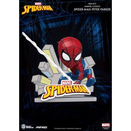 MARVEL SPIDER-MAN PETER PARKER MINI EGG ATTACK FIGURE