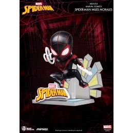 MARVEL SPIDER-MAN MILES MORALES MINI EGG ATTACK FIGURE BEAST KINGDOM