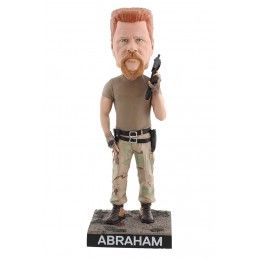 THE WALKING DEAD - ABRAHAM HEADKNOCKER BOBBLE HEAD ACTION FIGURE ROYAL BOBBLES