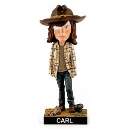 ROYAL BOBBLES THE WALKING DEAD - CARL HEADKNOCKER BOBBLE HEAD ACTION FIGURE