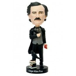 ROYAL BOBBLES EDGAR ALLAN POE HEADKNOCKER BOBBLE HEAD FIGURE