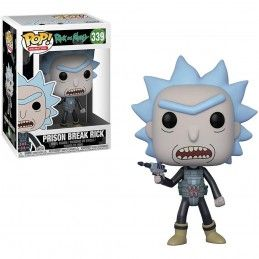 FUNKO POP! RICK AND MORTY - PRISON BREAK RICK BOBBLE HEAD KNOCKER FIGURE FUNKO