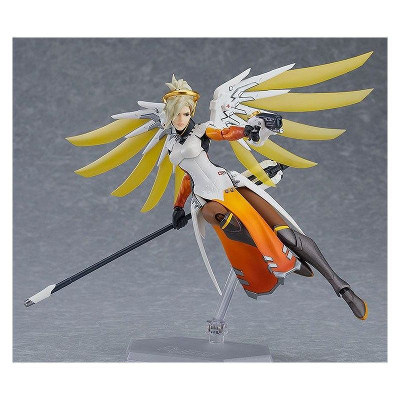 GOOD SMILE COMPANY OVERWATCH - MERCY FIGMA 16 CM ACTION FIGURE