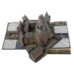 HARRY POTTER A POP-UP GUIDE TO HOGWARTS 3D BOOK LIBRO INGLESE