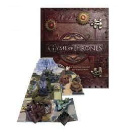 GAME OF THRONES A POP-UP GUIDE TO WESTEROS 3D BOOK LIBRO INGLESE