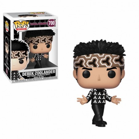 FUNKO POP! DEREK ZOOLANDER BOBBLE HEAD KNOCKER FIGURE