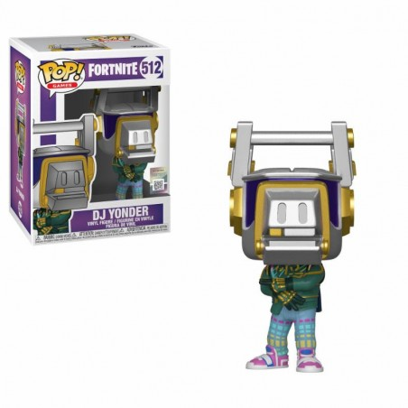 FUNKO POP! FORTNITE - DJ YONDER BOBBLE HEAD KNOCKER FIGURE