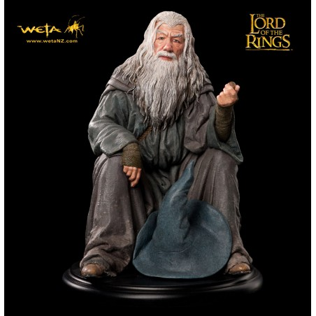 LORD OF THE RINGS - GANDALF 15CM STATUE FIGURE DIORAMA