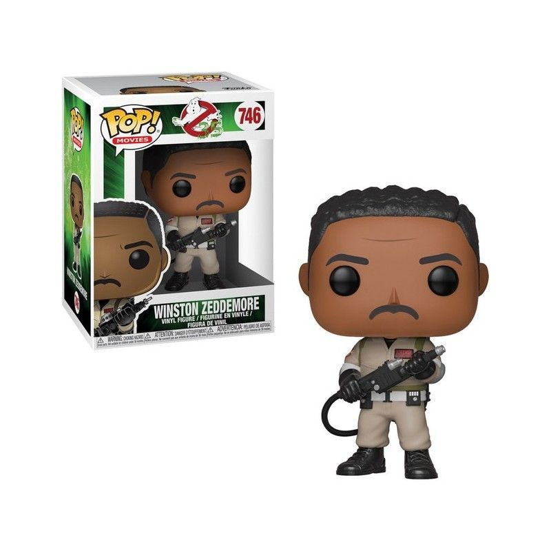FUNKO POP! GHOSTBUSTERS - WINSTON ZEDDEMORE BOBBLE HEAD KNOCKER FIGURE FUNKO