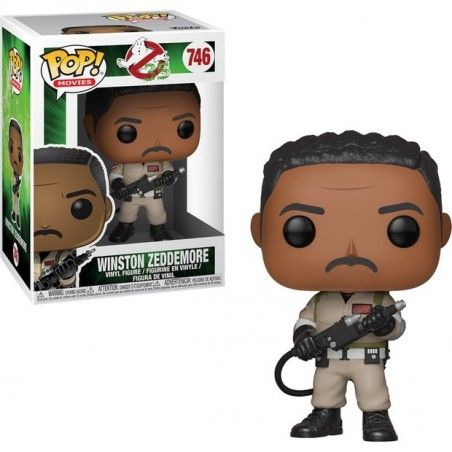 FUNKO POP! GHOSTBUSTERS - WINSTON ZEDDEMORE BOBBLE HEAD KNOCKER FIGURE