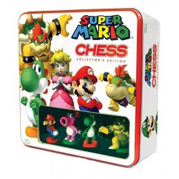 SUPER MARIO VINYL CHESS SET...