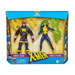 HASBRO MARVEL LEGENDS 80TH ANNIVERSARY - X-MEN HAVOK AND POLARIS ACTION FIGURE