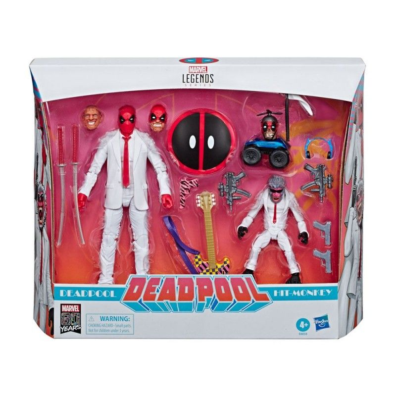 MARVEL LEGENDS 2-PACK - DEADPOOL AND HIT-MONKEY ACTION FIGURE HASBRO