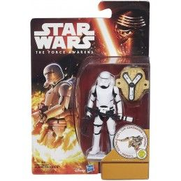 HASBRO STAR WARS - DESERT WAVE FIRST ORDER FLAMETROOPER ACTION FIGURE