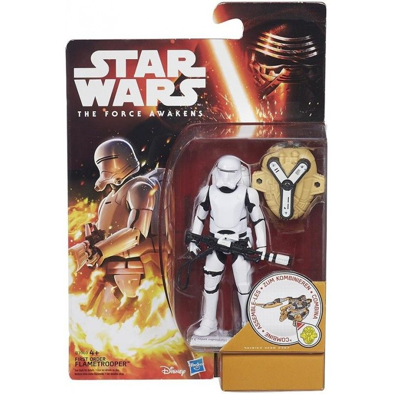 STAR WARS - DESERT WAVE FIRST ORDER FLAMETROOPER ACTION FIGURE