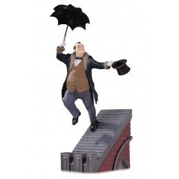 BATMAN ROGUES GALLERY THE PENGUIN FIGURE STATUE DC COLLECTIBLES