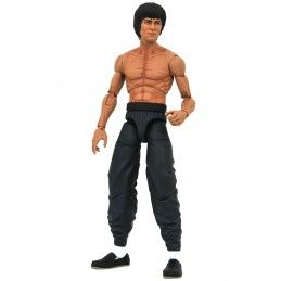 BRUCE LEE SHIRTLESS MARVEL SELECT ACTION FIGURE DIAMOND SELECT