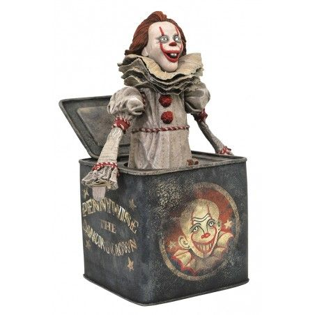 DC GALLERY IT 2 PENNYWISE IN BOX FIGURE STATUE