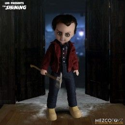 LIVING DEAD DOLLS LDD THE SHINING JACK TORRANCE ACTION FIGURE MEZCO TOYS